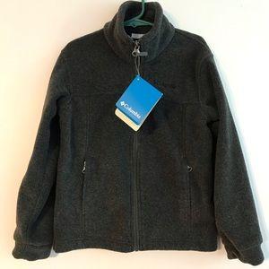 Kids Columbia Fleece Sweater Boy Girl XS 6-7